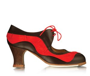 Zapato de flamenco para mujer