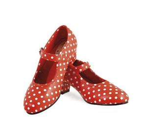 Zapato de flamenco para niñas